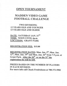 open tournament