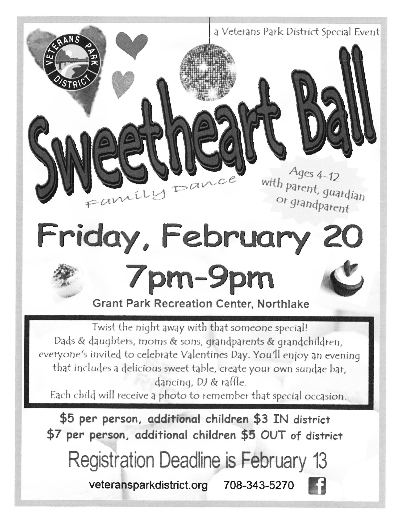 Sweetheart Ball - Northlake, IL